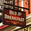 Signboard of a bed and breakfast — Stock Photo #33065423