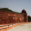 Постер, плакат: Defensive wall of a fort Red Fort