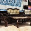 Stock Photo: Furniture at street market