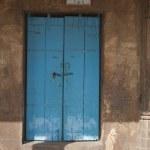 Door of a mosque, Sayad Sidi Mosque — Stock Photo #33066129