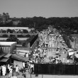 Market at roadside, Jama Masjid — Stock Photo