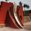 Historic observatory, Jantar Mantar — Stock Photo