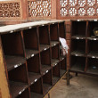 Shoe counter at Taj Mahal, Agra — Foto Stock