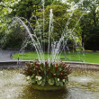 Stock Photo: Fountain in park