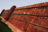 Defensive wall of a fort, Red Fort — Stock Photo