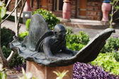 Statue in a garden, Garden of Five Senses — Stock Photo
