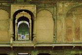 Tourists in a fort, Red Fort — Stock Photo