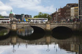 O'Connell Bridge, Liffey River — Stock Photo
