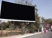 Billboard on the roadside, Ahmedabad — Stock Photo