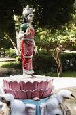 拉克希米女神的雕像 — 图库照片