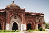 Fachada de una mezquita en un fuerte, fuerte viejo — Foto de Stock