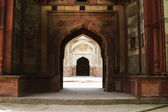 Archway in a fort, Old Fort — Stock Photo