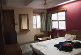 Interiors of a hotel room, Ahmedabad — 图库照片