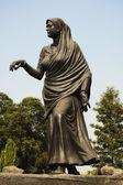 Statue depicting historic Dandi March, Gyarah Murti — Stock Photo