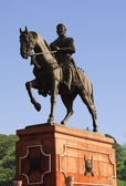 Statue of Shivaji, Agra, Uttar Pradesh — Stock Photo