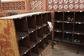 Shoe counter at Taj Mahal, Agra — Stock Photo