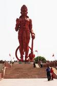 Idol of Lord Hanuman at Chhatarpur Temple — Stock Photo