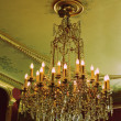 Stock Photo: Chandelier in museum