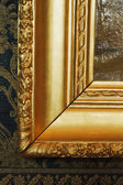 Golden frame of a painting — Stock Photo