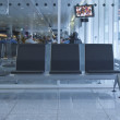Foto Stock: Interiors of airport lounge