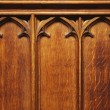 Detail of a wooden panel — Stock Photo