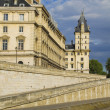 Luxembourg Palace at the riverside — Stock Photo