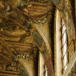 Murals on the ceiling of Chateau de Versailles — Stock Photo