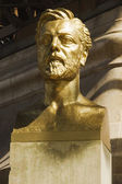 Bust of Gustave Eiffel — Stock Photo