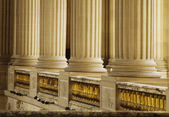 Colonnade in the palace, Chateau de Versailles — Stock Photo