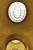 Skylight in Musee du Louvre — Stock Photo