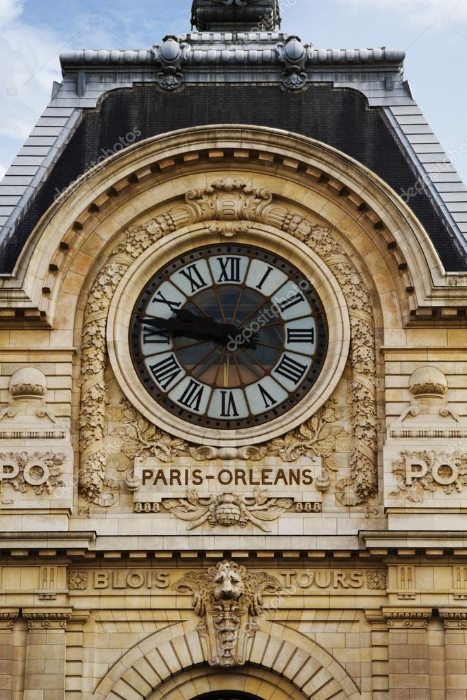 horloge de gare paris orleans photographie imagedb seller 33081243. Black Bedroom Furniture Sets. Home Design Ideas