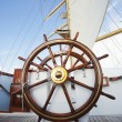 Stock Photo: Ships helm