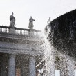 Fountain at St. Peters Square — Stock Photo #33105471
