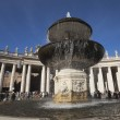 Fountain at St. Peters Square — Stock Photo #33107907