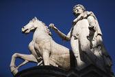 Statue of Castor — Stock Photo