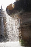 Fountain, St. Peters Square — Stock Photo
