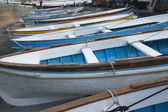 Boats at a harbor — Stock Photo