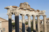 Ruins of Temple of Saturn — Stock Photo