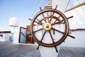 Ships helm — Stock Photo