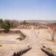 Buddhist monastery at Sanchi — Stock Photo