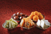 Traditional Indian sweets — Stock Photo