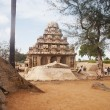 Ancient PanchRathas temple — Foto de stock #33139933