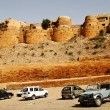 Fort on hill, Jaisalmer Fort — 图库照片 #33260529