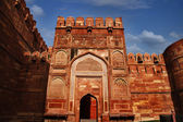 Entrance gate of a fort — Stock Photo