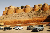 Fort on hill, Jaisalmer Fort — Стоковое фото