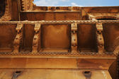 Architectural detail of a fort, Jaisalmer Fort — 图库照片