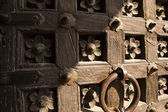 Detail of a door, Jaisalmer Fort — Stock Photo