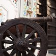 Stock Photo: Close-up of cannon