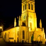 Christ Church at night — Stock Photo #33274281