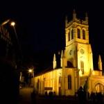 Christ Church at night — Stock Photo #33274765